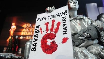 على خطى إسطنبول.. محافظة تركية تحظر فعاليات «لا للحرب» لمدة 10 أيام