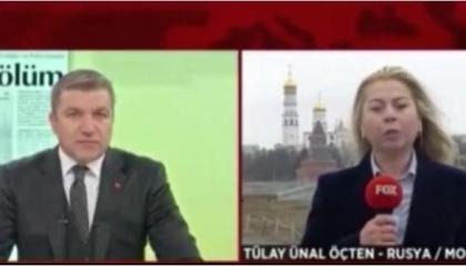 وقفت أمام الكاميرا.. الشرطة الروسية تمنع بث قناة تركية