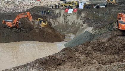 تركيا أنفقت 100 مليون ليرة على حفر آبار المياه في سوريا