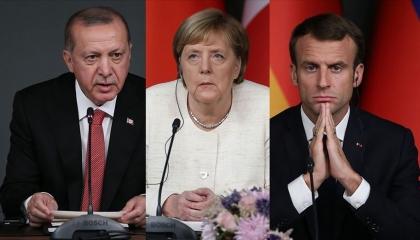«كورونا» يلغي قمة إسطنبول.. وأردوغان يلتقى ميركل وماكرون «عن بعد»