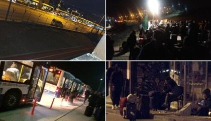 خوفًا من كورونا.. إخلاء مدينة جامعية بمنتصف الليل.. والطالبات نمن بالشوارع