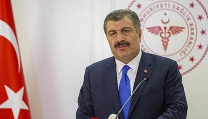 وزير الصحة التركي: هناك إصابات بكورونا بين كوادرنا الطبية