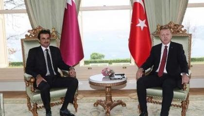 اتصال هاتفي بين  أردوغان وتميم