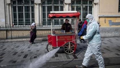 استطلاع رأي: فيروس كورونا يصيب غالبية  الأتراك بالفزع