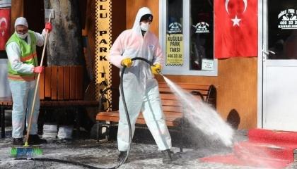 تقرير بريطاني: تركيا الأسرع بالعالم في معدلات الإصابة بـ«كورونا»