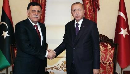 أردوغان يسرق ثروات ليبيا.. «الوفاق» تمنح أموال الليبيين للمستعمر التركي