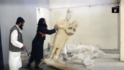 «داعش» وتجارة الآثار.. نهب التاريخ الإنساني على الطريقة العثمانية