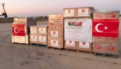 تركيا ترسل مساعدات طبية إلى قواتها في ليبيا لمواجهة كورونا