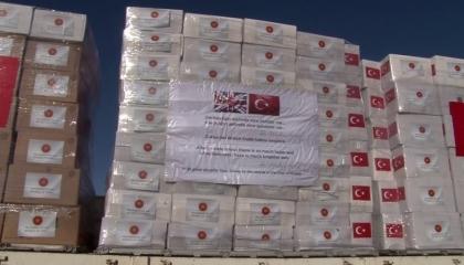 تركيا ترسل مساعدات طبية إلى بريطانيا لمواجهة كورونا