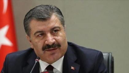 وزير الصحة التركي ينفي عزمه تقديم استقالته بسبب التطبيق الخاطئ لحظر التجوال