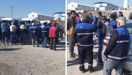 إضراب عاملين أتراك في شركة إنشاءات احتجاجًا على استمرار العمل برغم كورونا