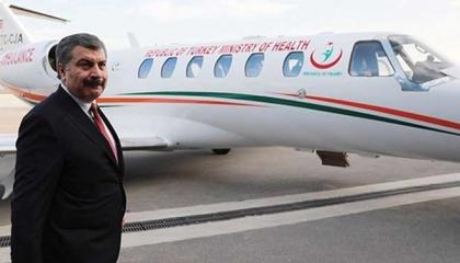 مفاجأة.. الحكومة التركية استأجرت طائرة إسعاف من شركة قطرية بـ127 مليون ليرة