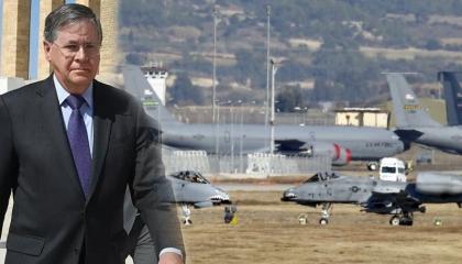 سفير أمريكا لدى تركيا يكذّب أردوغان:  غلق قاعدة إنجيرليك ليس مطروحًا