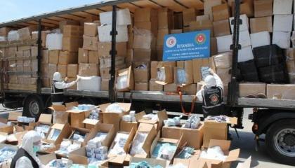 تركيا تضبط أدوات طبية واقية من «كورونا» بقيمة مليون و170 ألف ليرة
