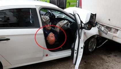 سائق ثمِل يصطدم بحافلة.. ويرد على الشرطة: تناولت قليلاً وتناولت كثيرًا