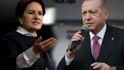 المرأة الحديدية تهاجم أردوغان بعد معاقبته لقناة تركية استضافتها على الهواء