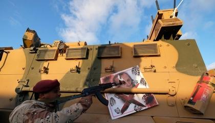 راجمات «طير أبابيل» الليبية تدك مرتزقة أردوغان.. والجيش: لدينا أخبار سارة
