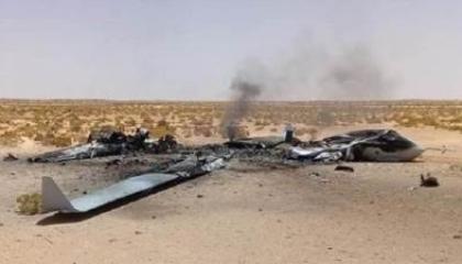 الجيش الليبي يسقط طائرة تركية مسيرة