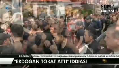 أردوغان في 2014 للعمال المتظاهرين: من ينتقدني «هاياخد على قفاه»