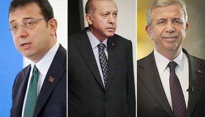 أحدث استطلاعات الرأي: شعبية أردوغان تتراجع لصالح زعماء أنقرة وإسطنبول