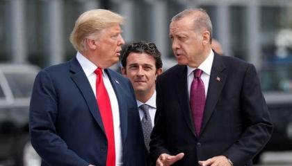 أردوغان يجري اتصالًا هاتفيًا بترامب لمناقشة أزمة كورونا
