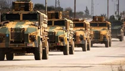 استهداف قافلة عسكرية تركية بقنبلة في إدلب السورية