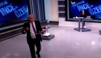 مرشح رئاسي سابق يغادر الاستوديو على الهواء بعد قطع البث بسبب أردوغان