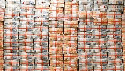الحكومة التركية تخسر 44 مليار دولار من احتياطاتي النقد الأجنبي في 4 أشهر
