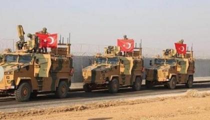 بالفيديو.. طائرات «ميج 29» تدمر قافلة عسكرية تركية قبل دخولها سرت الليبية