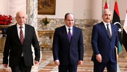 «جارديان» البريطانية تسلط الضوء على مبادرة السيسي لإنهاء الأزمة الليبية