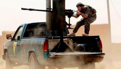 عاجل.. اشتباكات عنيفة بين مرتزقة أردوغان والقوات الكردية في سوريا