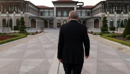 صور.. «فوتوسيشن كورونا» يثير سخرية الأتراك من أردوغان: ديكتاتور يغازل نفسه