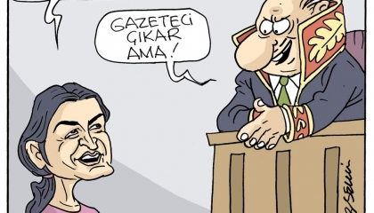 كاريكاتير: «الجاسوسية » تهمة من يمارس الصحافة