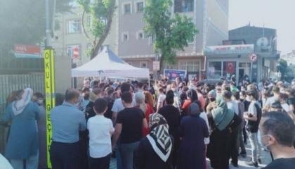 بالصور: تكدس ملايين الطلاب وأولياء الأمور في تركيا مع بدء امتحانات الثانوية