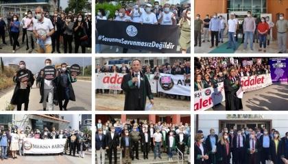 صور.. استمرار احتجاجات المحامين الأتراك ضد اغتصاب أردوغان لصلاحيات القضاة