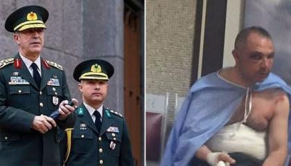 ضجة على مواقع التواصل الاجتماعي بسبب صور لتعذيب مرافق وزير الدفاع التركي