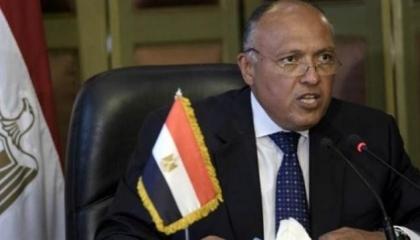 وزير الخارجية المصري: نرفض تدخل تركيا بليبيا..والحل العسكري «الخيار الأخير»