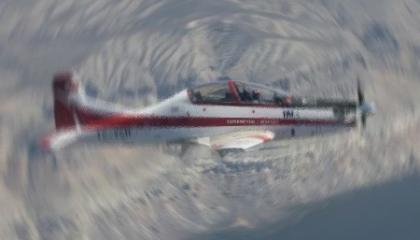سقوط طائرة تدريبات تركية بأنقرة