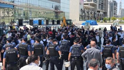 مرشح رئاسي سابق يهاجم السلطات التركية بعد قمعها لاحتجاجات المحاميين