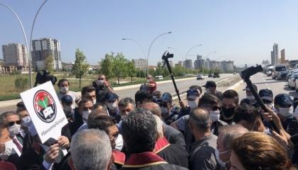 الشرطة التركية تقمع «مسيرات الدفاع» وتمنع المحامين من دخول أنقرة