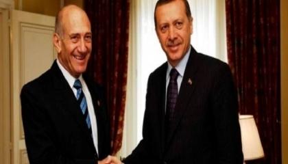 رئيس وزراء إسرائيل السابق يكشف: أردوغان توسط للسلام بين بشار الأسد وتل أبيب