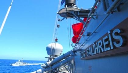 تركيا تؤكد مشاركتها في مناورات بحرية بغرب المتوسط بمشاركة إيطاليا وتونس