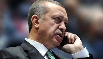 أردوغان يجري اتصالًا هاتفيًا برئيس الوزراء اليوناني