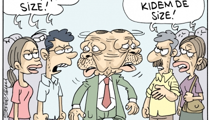كاريكاتير: أردوغان مُحاط بالرفض من جميع الأطراف