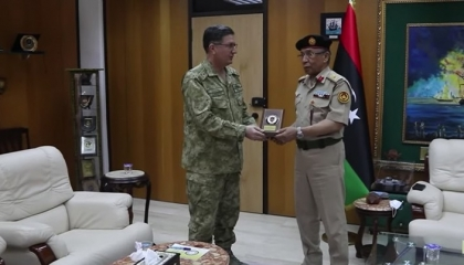 قائد القوات البحرية التركية يزور طرابلس استعدادًا لتدشين قاعدة بمصراتة