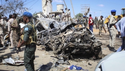 حركة الشباب الصومالية تهاجم قاعدة «بيليت أوين» التركية
