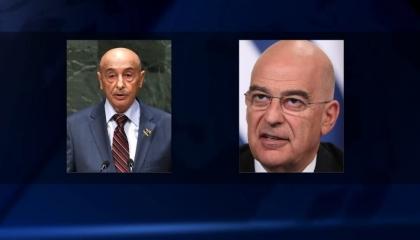 وزير الخارجية اليوناني في ليبيا لمقابلة عقيلة صالح