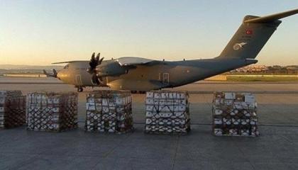 بالتزامن مع قصفها جويًا.. أردوغان يرسل طائرة مساعدات طبية للعراق