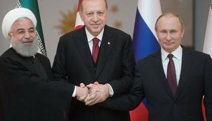 انطلاق أعمال القمة الثلاثية بين أردوغان وبوتين وروحاني لبحث الأوضاع في إدلب