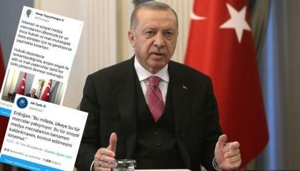 ماذا يريد أردوغان من «تويتر»؟ حساب الرئيس التركي «ساعة ينشر وأخرى يحذف»